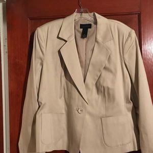 Jackets & Blazers - Light beige jacket/blazer